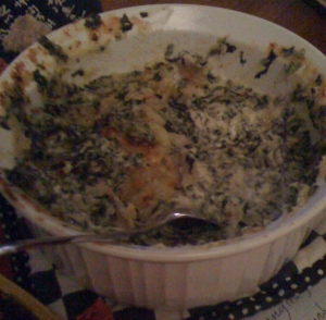 cheesey spinach dip