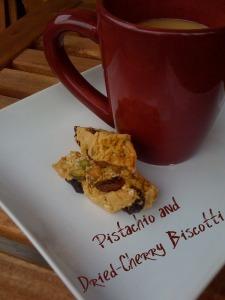 pistachio cherry biscotti